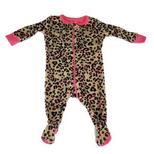 The Childrens Place Animal Print Footie One Piece
